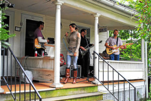 """THE FRONT PORCH ONCE AGAIN!"" MUSIC & BIKE RIDE"