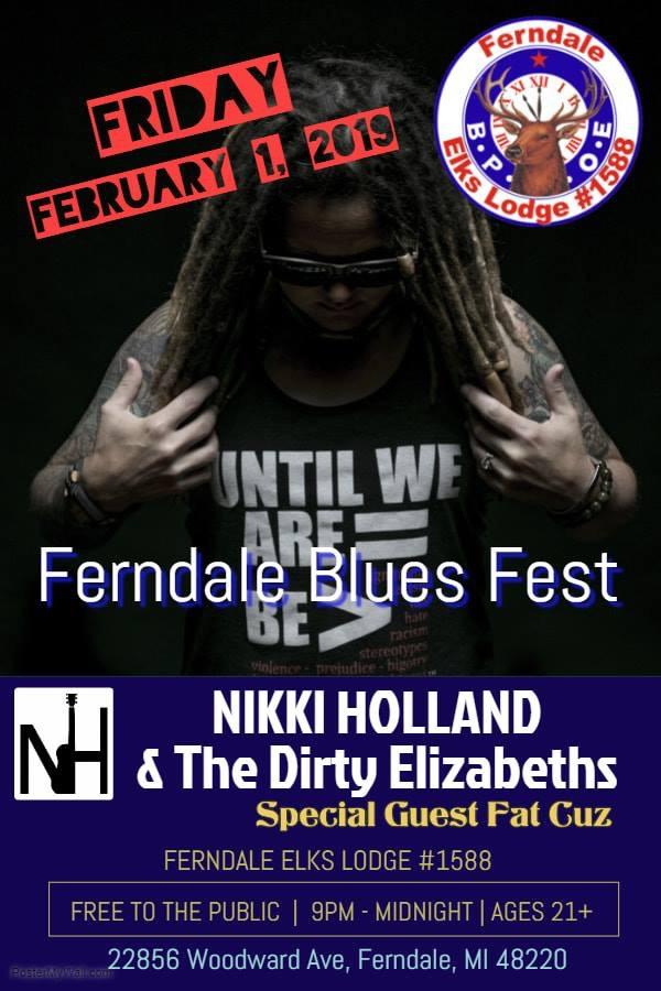 Nikki Holland and the Dirty Elizabeth's