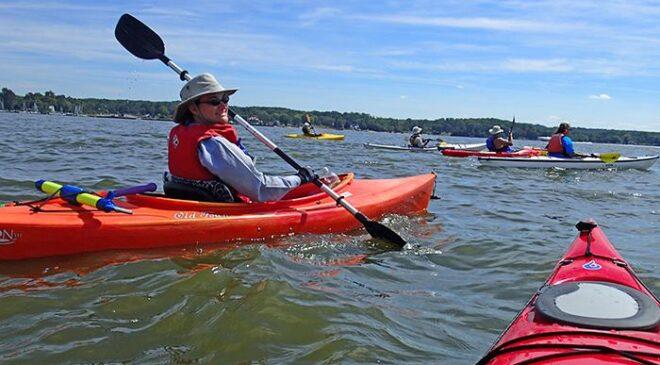 Lesbians In Canoes & Kayaks